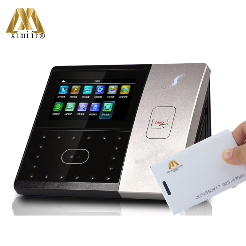 Good Quality Iface701 Face Recognition Attendance Machine RFID Card Time Attendance And Facial Access Control Optional With GPRS