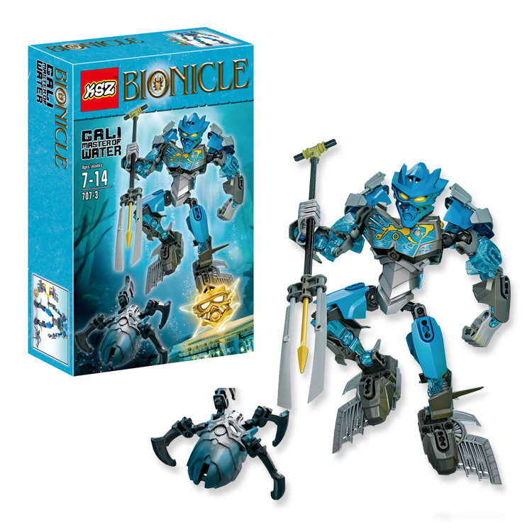 2016 new Bionicle gali master of water XZS 707-3 Minifigure Building Block Toys Action Figure Compatible With Lego
