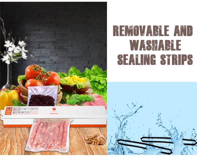 Vacuum Sealer Packaging Machine 220V/110V Household Food Vacuum Sealer