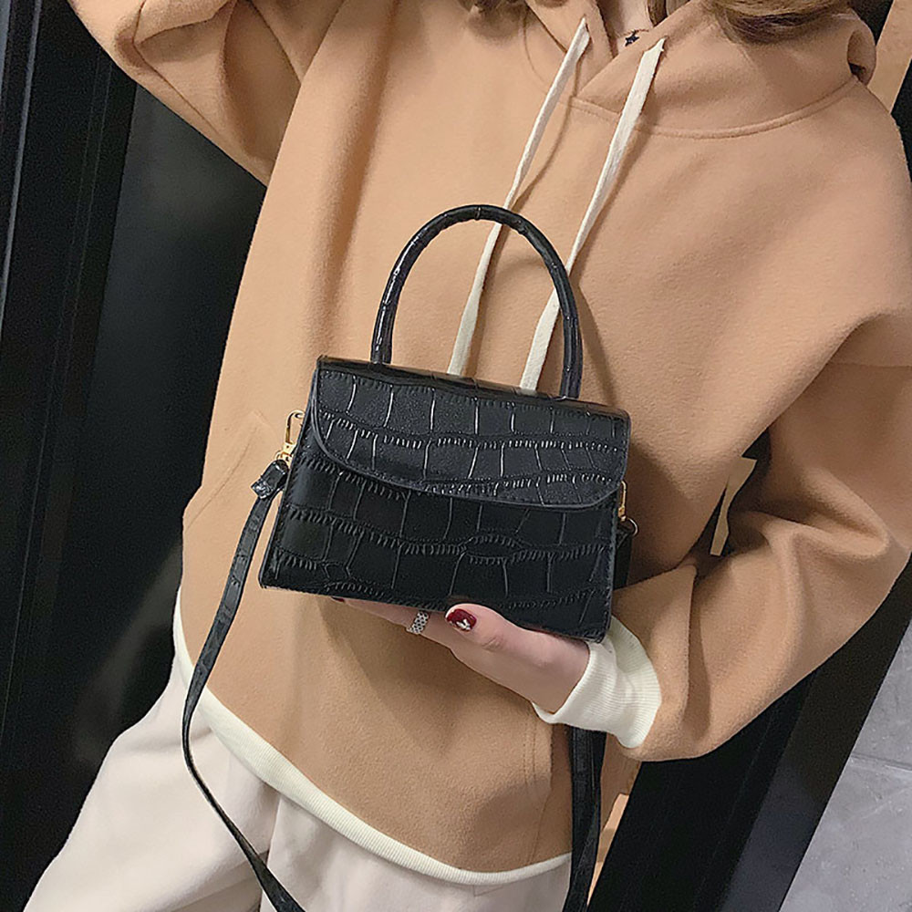 Fashion Retro Small Square Bag For Woman Paisley Portable Wild Shoulder Bag Luxury Handbags Women Bags Designer Sac A Main