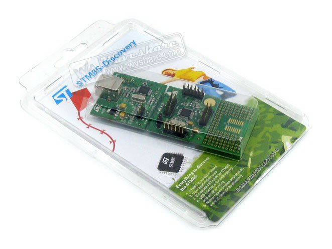 STM8 Board STM8S-DISCOVERY STM8S105C6T6 STM8S105 STM8 Discovery Kit Evaluation Development Board Embedded ST-Link cc1350 evaluation board launchxl cc1350