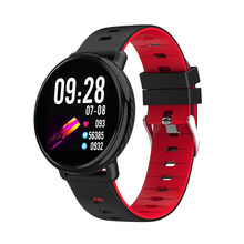 2019 New SENBONO K1 Smart Watch IP68 Waterproof Clock Fitness tracker Heart rate monitor Men Women Smartwatch for IOS Android(China)