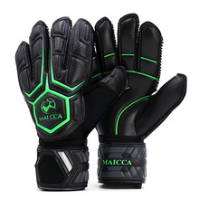 MAICCA Professional Goalkeeper Gloves with Finger Protection Thickened Latex Non-Slip Soccer Football Goalie Goal keeper