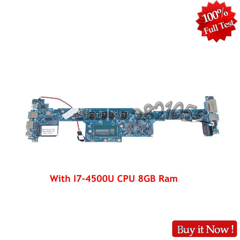 NOKOTION For Acer aspire S7-392 Laptop Motherboard NBMBK11002 NB.MBK11.002 SR16Z I7-4500U CPU 8GB RAM 48.4LZ03.021 MAIN BOARD new for acer aspire s7 s7 391 40mm laptop cooling fan free shipping