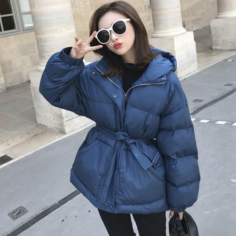Fashion Down Cotton Winter Jacket Women New Hoodies Thicken Bread Winter Coat Manteau Femme Hiver Warm Women Jacket   Parka   C5149
