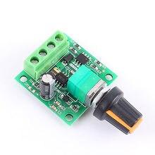 Controlador de velocidad del Motor de CC PWM ajustable gobernador 1,8 V 3V 5V 6V 12V 12V 2A regulador de bajo voltaje Interruptor de Control de Velocidad