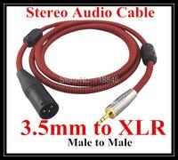 5 m 8 m 10 m @ TRS 3.5mm à XLR bouclier Stéréo audio câble 3.5mm plug CD Lecteur Walkman smartphone à XLR plug pour console de mixage