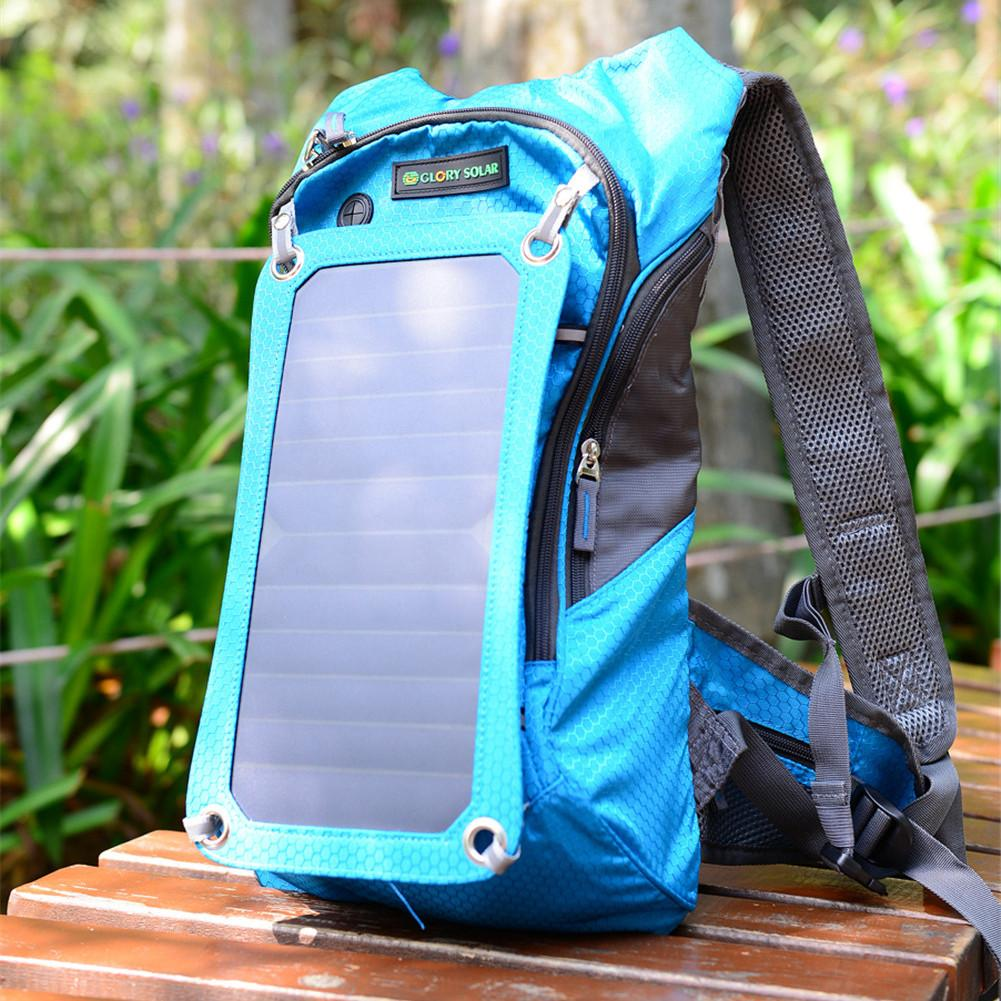 Hiking Backpack Outdoor Riding Backpack 7 Walls Solar Panel Charge For Smart Cell Phones And Tablets GPS EReaders BluetoothHiking Backpack Outdoor Riding Backpack 7 Walls Solar Panel Charge For Smart Cell Phones And Tablets GPS EReaders Bluetooth