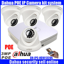 Dahua 4Channel Security NVR4104-P 1080P HDMI Output Night Vision IR Indoor/Outdoor Camera 3Megapixel Smart Phone Viewing