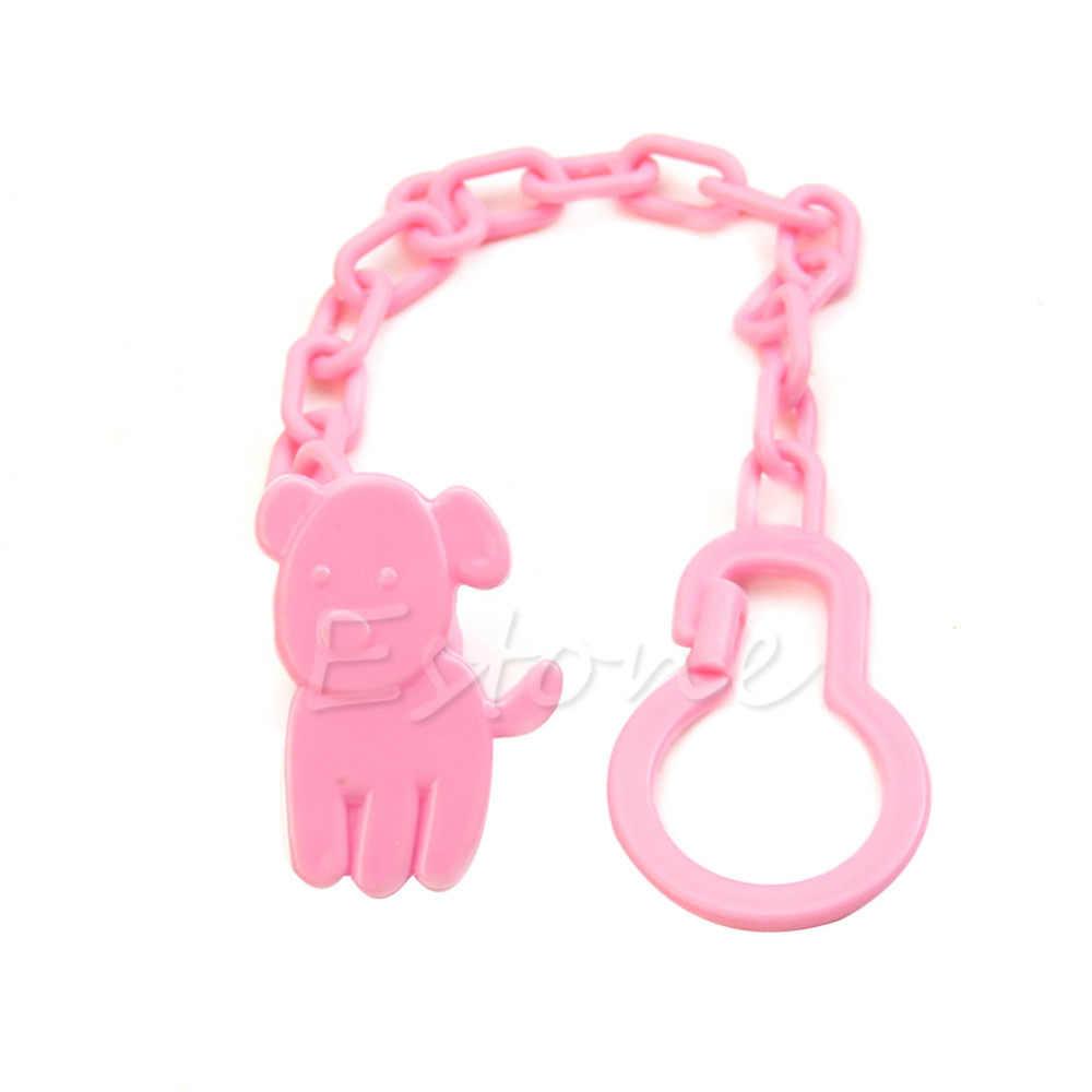 Chupeta infantil, lote bonito bebê infantil crianças manequim suporte de corrente clipes brinquedo da criança
