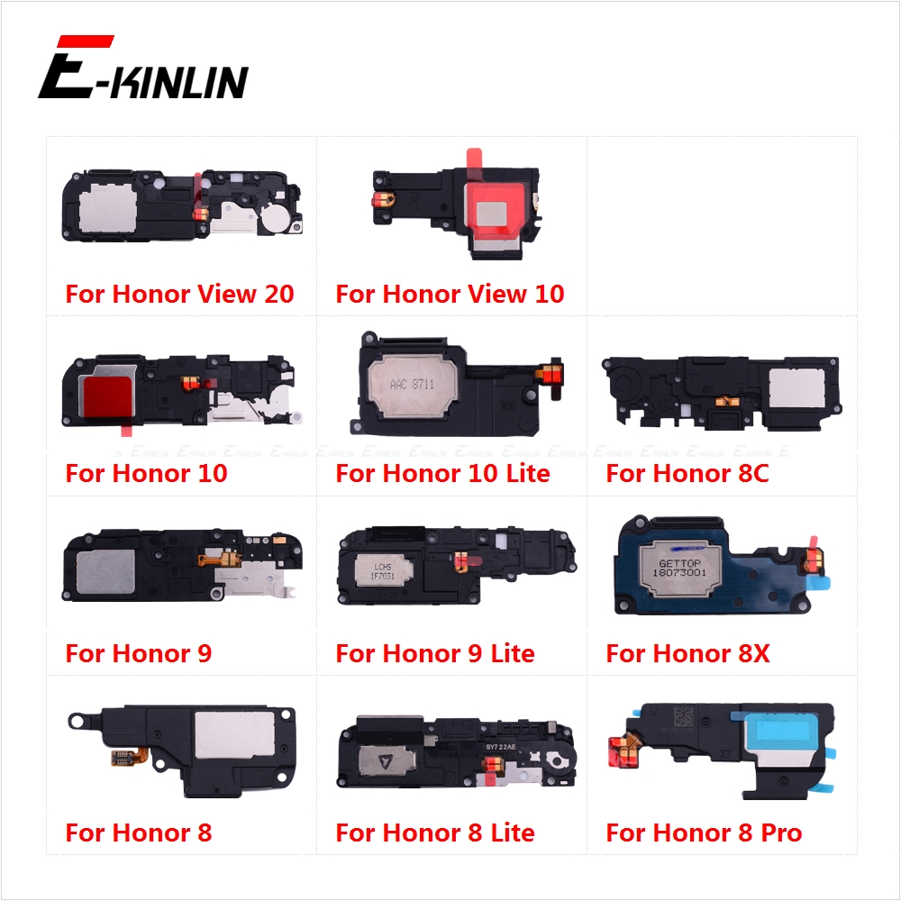 Rear Buzzer Ringer Module Loudspeaker Loud Speaker Flex Cable For HuaWei Honor View 20 10 9 8X 8C 8 Lite Pro