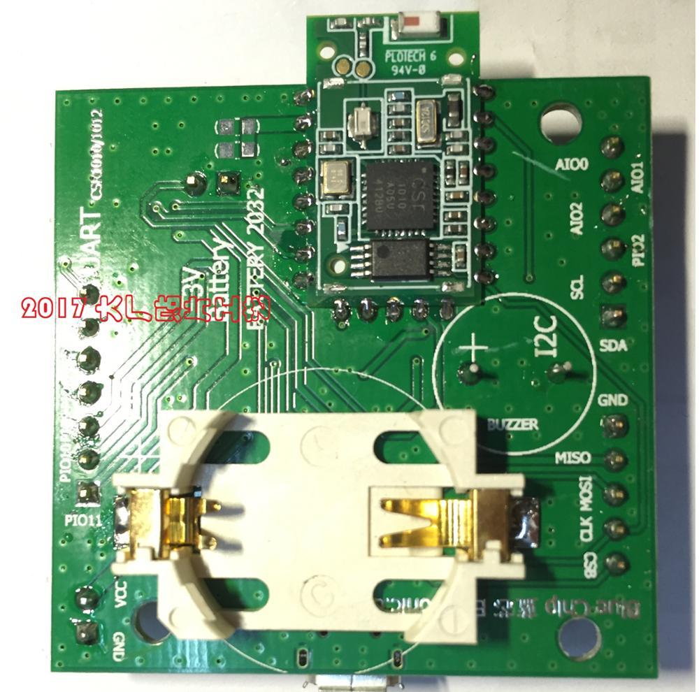 La carte de développement Bluetooth 4.0BLE CSR1010 prend en charge le verrouillage de vélo Bluetooth maille/IOT/partagé