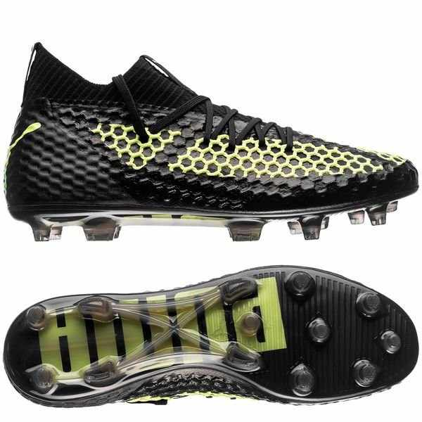 26d4143f3e 2018 PUMA Future 18.1 NetFit Text Firm Ground hyFG Soccer Cleats Sneakers  Badminton Sports Shoes 8