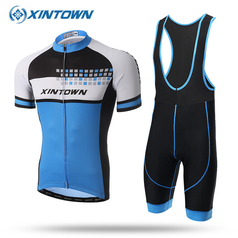 XINTOWN 2017 Breathable Cycling Jersey Summer MTB Bicycle Clothing Ropa Maillot Ciclismo Bike Clothes Sportswear xintown 2017 pro men cycling jersey set breathable mtb clothes quick dry bicycle summer sportswear bike jerseys ropa ciclismo