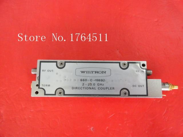 [BELLA] WILTRON 660-C-18692 2-20GHz Coupler SMC-2.92mm