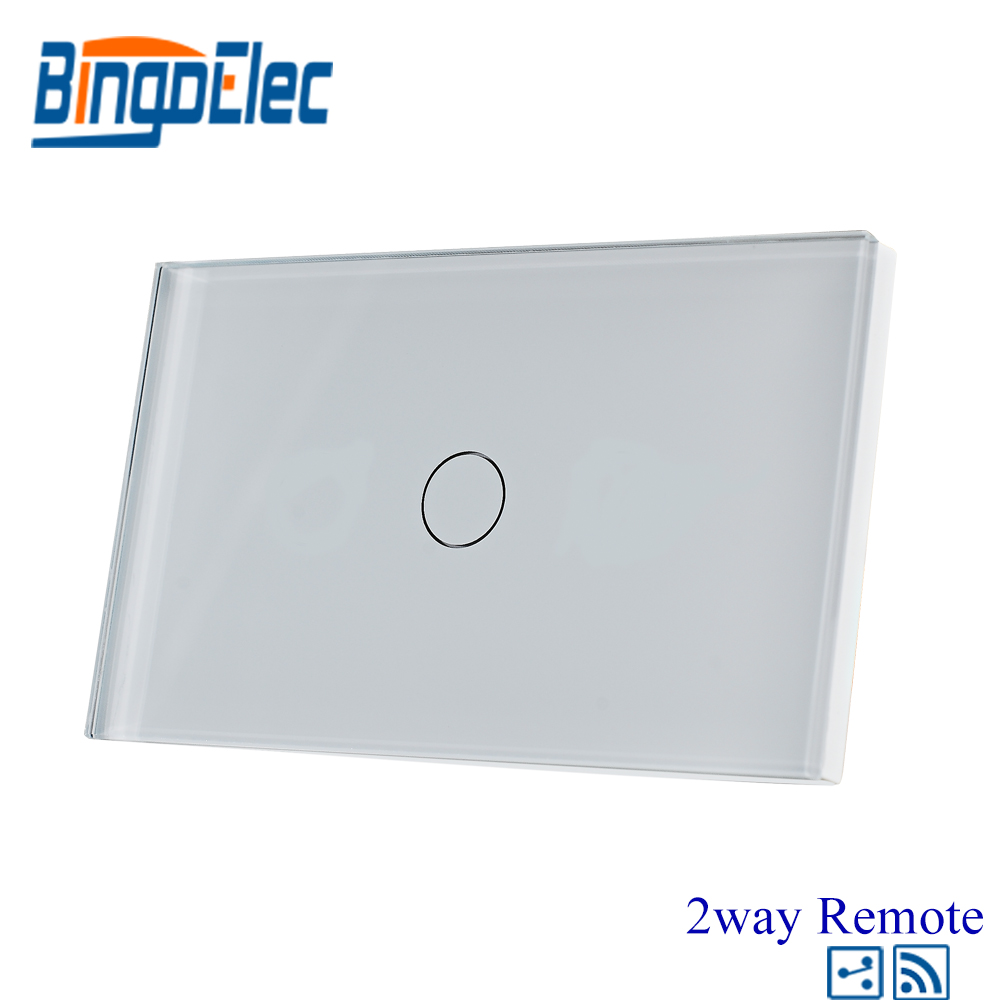 AU/US Standard Bingoelec 1gang 2way Wireless Remote Light Switch ...