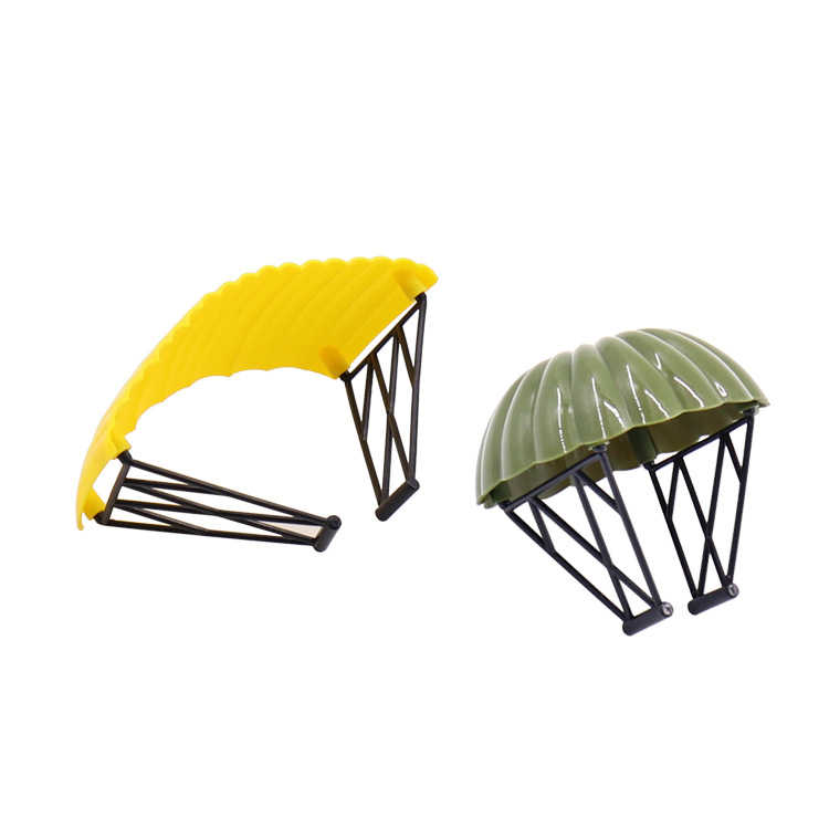 Modern military game ww2 PUGB Parachute moc parts building block world war bricks DIY toys for boys FOR boys