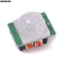 1 pièces/lot HC-SR501 ajuster IR pyroélectrique infrarouge PIR détecteur de mouvement Module pour arduino pour framboise pi kits