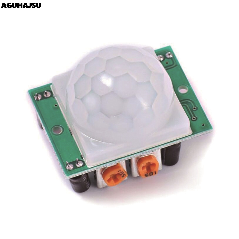 1pcs/lot HC-SR501 Adjust IR Pyroelectric Infrared PIR Motion Sensor Detector Module for arduino for raspberry pi kits