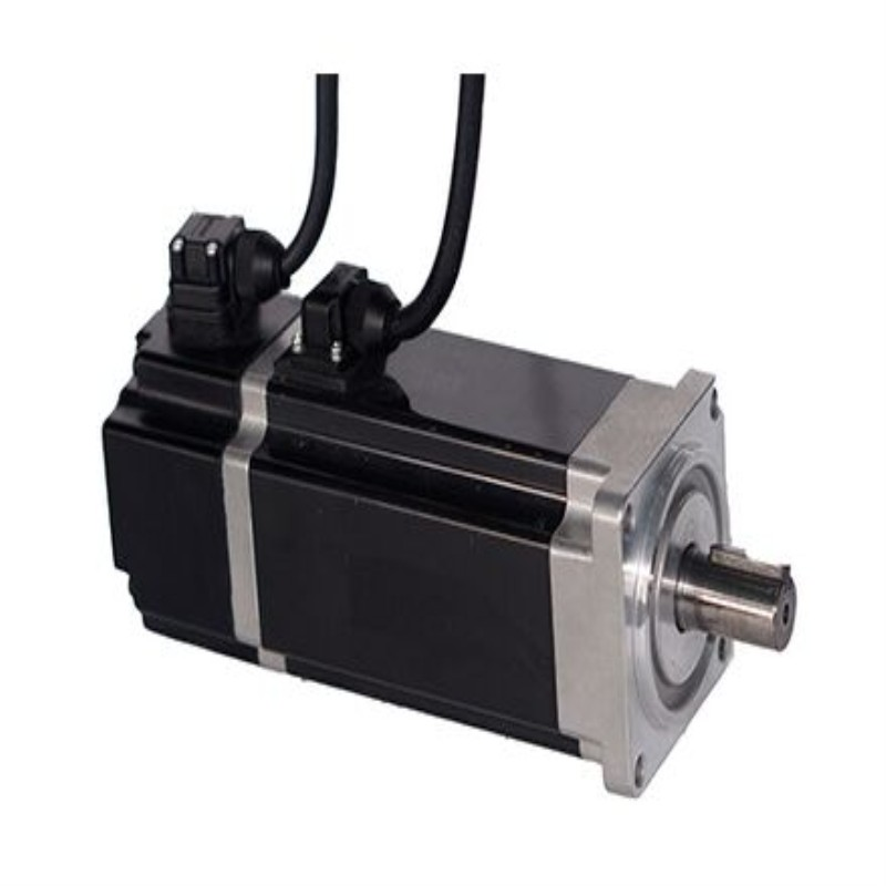 60*60MM 400W 48VDC 3000rpm 1.27Nm 12.8A 2500 incremental encoder,Low voltage servo and No oil seal 4 Pairs of poles