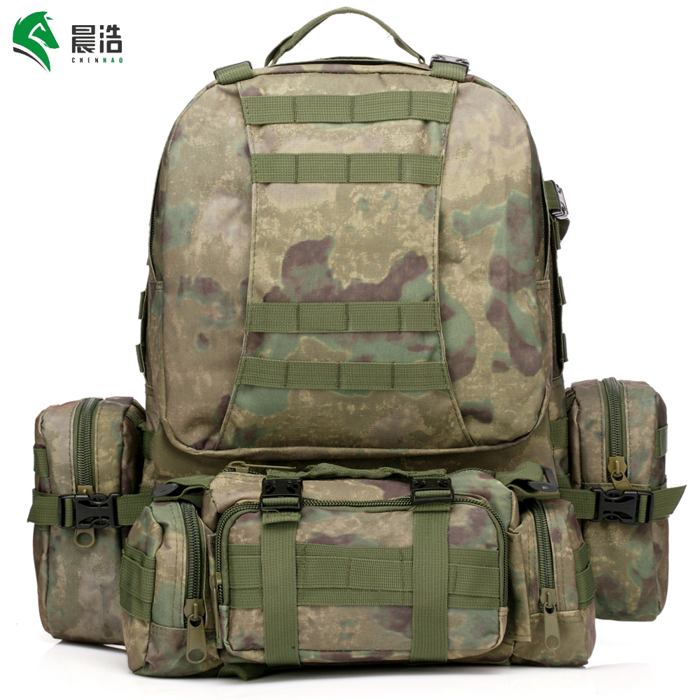 hot sale outdoor waterproof oxford Modular system tactical backpack 55 L military  backpack 3 day tactical assault bag military-in Climbing Bags from Sports  ... ed76e79ecf