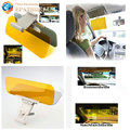 HD Auto Car Sun Visor Goggle Mirror Sun Shade Block For Driver Day and Night Anti Dazzling Sunshade Mirror Clear View