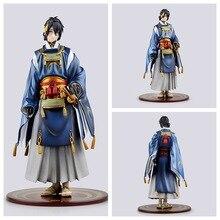 23cm Mikazuki Munechika Touken Ranbu Online Action Figure Model Toy collection Anime Cartoon dolls xmas gift