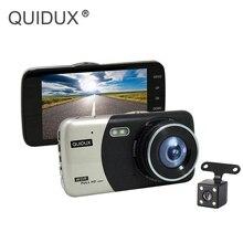 """QUIDUX Auto DVR Dashcam 4 """"FHD 170 Ampio Angolo di 1200MP Car Video Registratore WDR Parcheggio Guardia Registrazione in Loop retrovisore macchina Fotografica dello specchio"""
