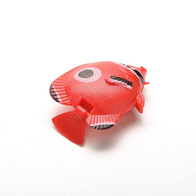 5pcs/lot Artificial Tropical Fish Floating Moveable Aquarium Fish Tank Toy Aquarium Decoration Ornament