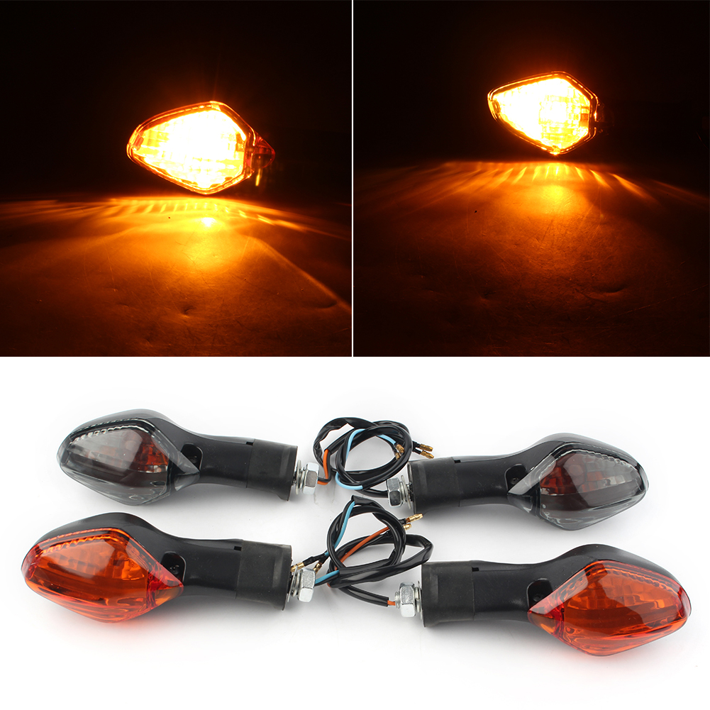 Motorcycle Indicator Turn Signal Light For Honda CRF250L 2013 2014 2015 2016 Smoke Amber Taillights ABS Plastic