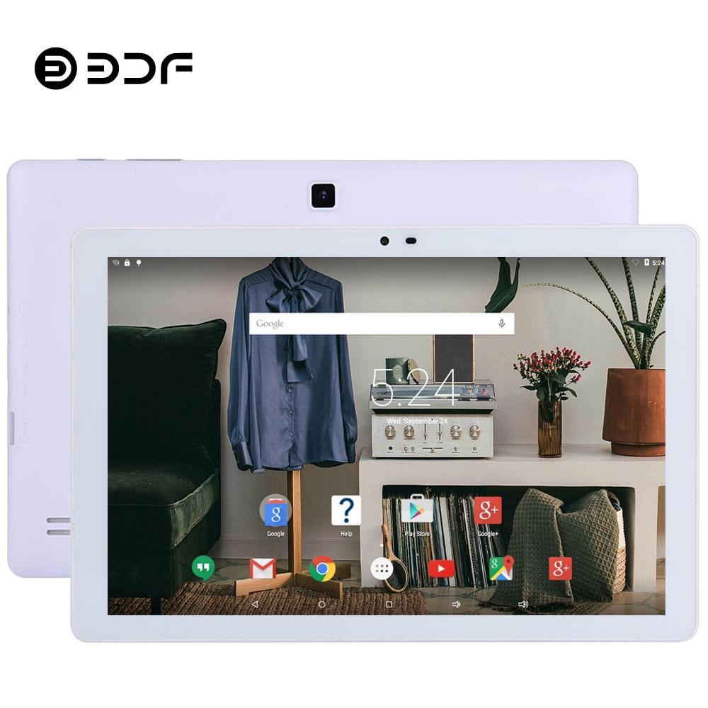 BDF 10 1 Inch Tablet Pc Android 5 0 Quad Core Google Play 1GB 32GB 1280