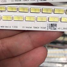 513 мм светодиодный Подсветка полосы 64 светодиодные лампы для LG Innotek 70-дюймовый сенсорный экран на основании 7030PKG 64EA LC-70LE600U LC-70LE640U LC-70LE650U E701I-A3 KDL-70R550A