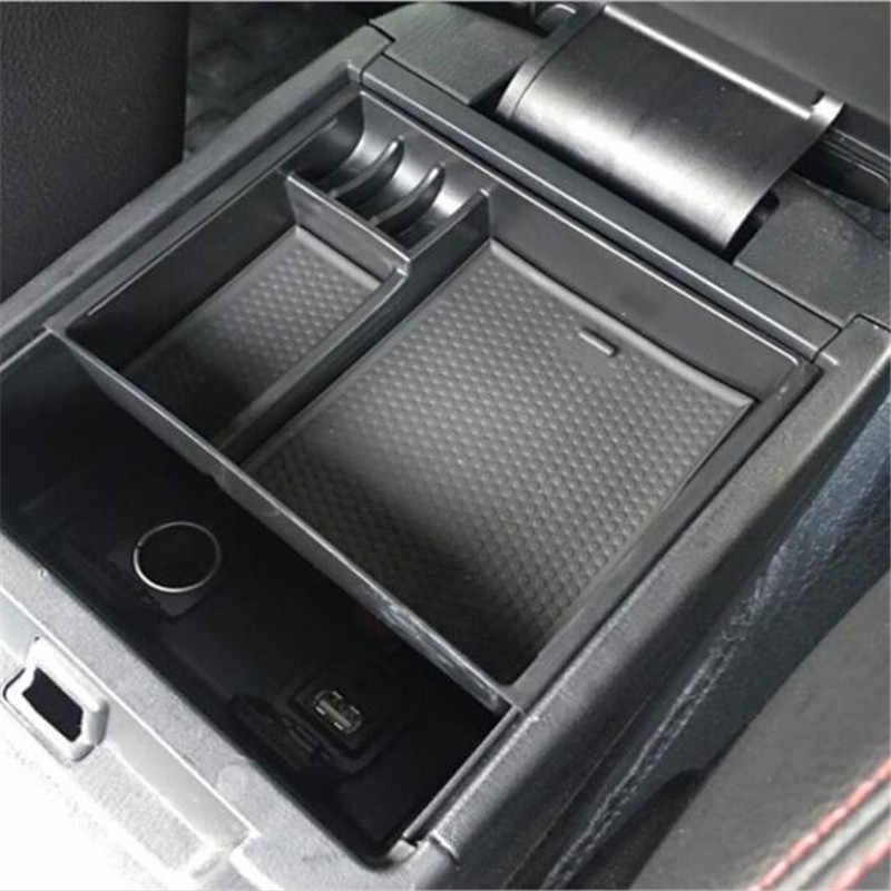 CDEFG Vano Portaoggetti da Bracciolo per CX-30 CX30 Scatola di Controllo Centrale Scatola del Bracciolo Scatola di Immagazzinaggio con tappetino antiscivolo Accessori Interni per auto Blu