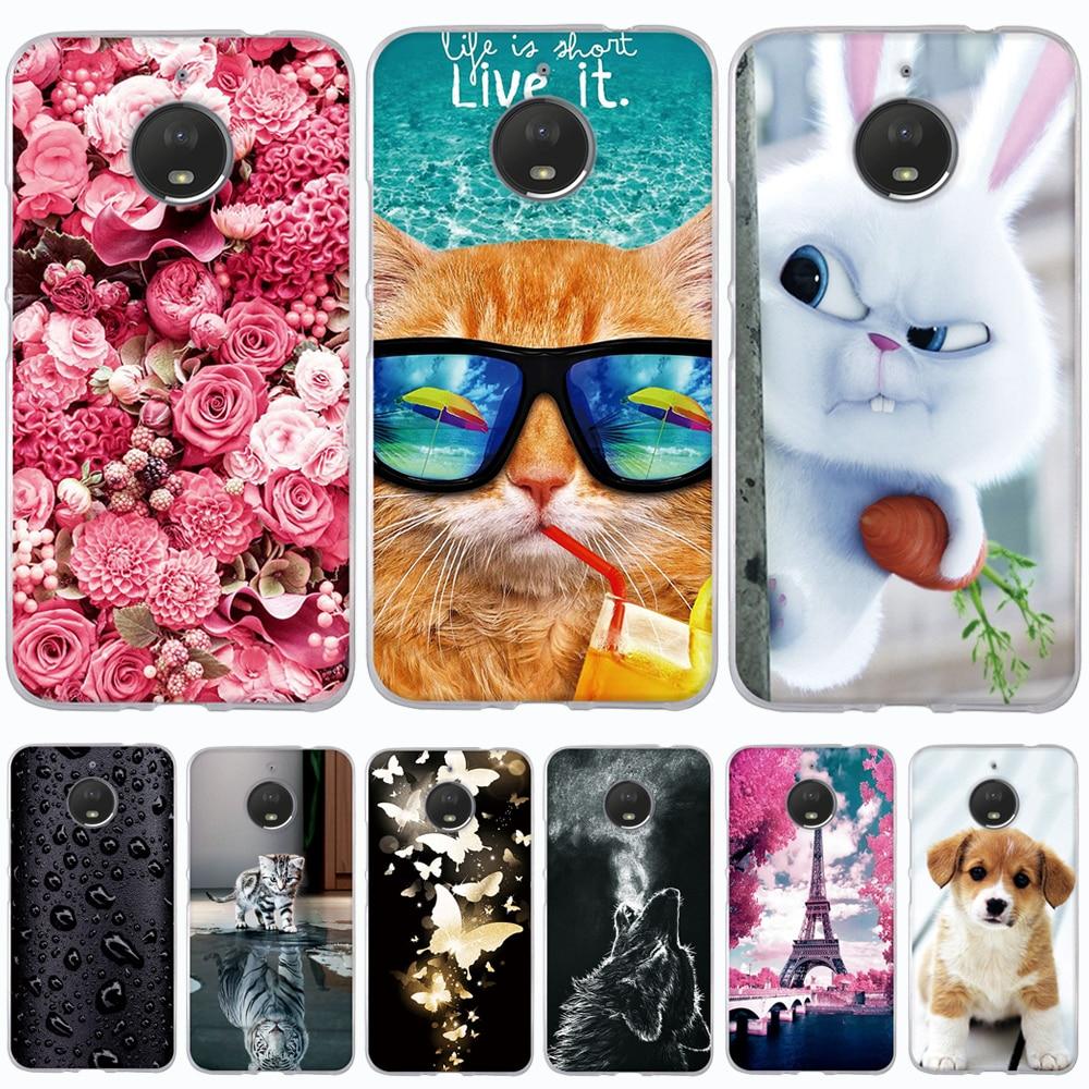 Phone Case For Motorola Moto E4 Plus Case Cover TPU Silicon Cover for M