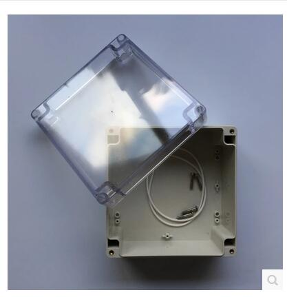 1pc New DIY Transparent 160*160*90mm Electrical Instruments Plastic BOX free shipping terminal box industrial plastic waterproof box electrical junction box 160 160 90mm