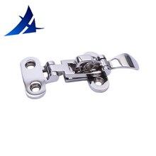 Marine Boat Stainless Steel Locker Hatch Anti-Rattle Latch Fastener Clamp 4-3/8″