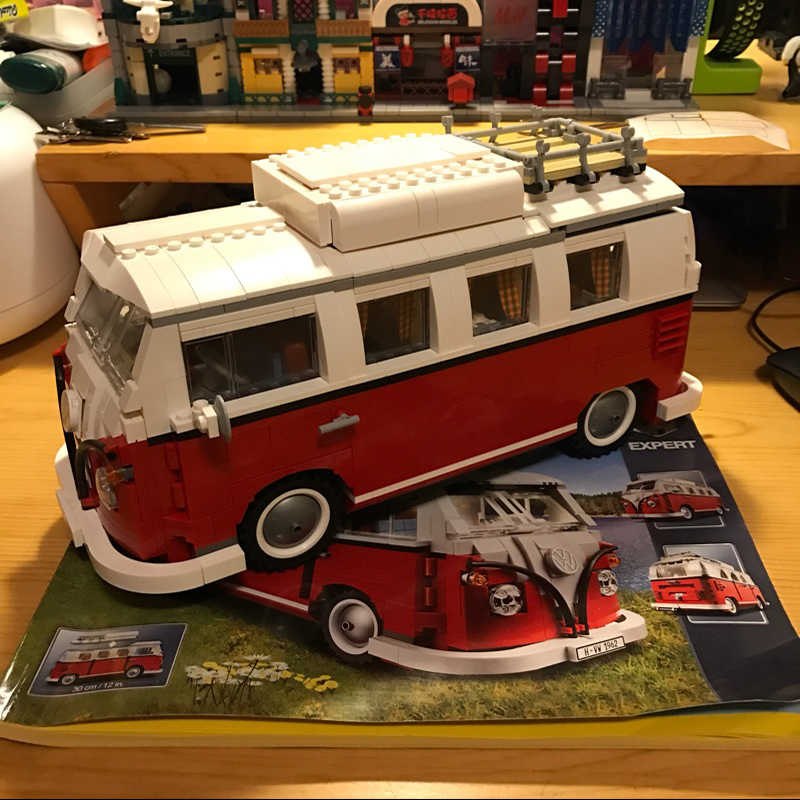 Bela 10569 Volkswagen T1 Camper Van building bricks Toys for children Game Model Car Gift Compatible with Decool Lepin 10220 akg k315 ухо наушники hifi стерео гарнитура музыка телефон гарнитура красный