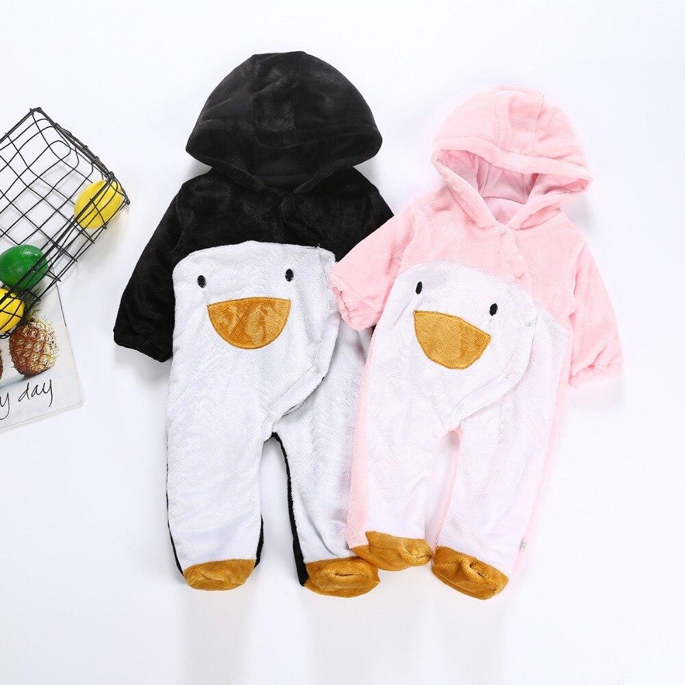 e8f0a4414 Nuevo 2019 primavera otoño mamelucos del Bebé Ropa de manga larga recién  nacido Niño niñas Polar
