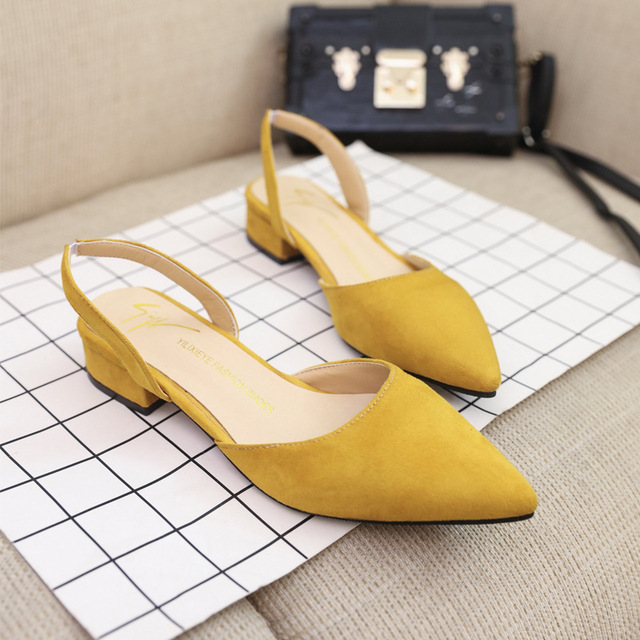 2018 Women Pumps Ankle Strap Thick Heel Women Shoes Square Toe Mid Heels Dress Work Pumps Comfortable Ladies Shoes 2.5 cm 4