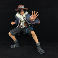 Anime action figure One Piece Portgas.D.Ace Desert Ver. cartoon model peripheral decoration children's toy with box Y7543