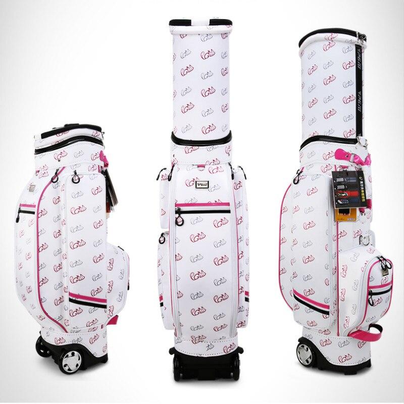New products in 2019! PGM Golf Bag Lady Korean Version Flexible Bag Multifunctional Air Bag