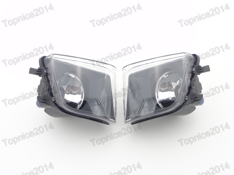 2Pcs Clear Lens Driving Fog Lights Lamps Replacement Car Styling For BMW 7-Series F01 F02 2009-2012 high quality 1pair bumper driving fog light lamp lens for bmw e39 5 series 525i 530i 540i 4door 2001 2002 2003 car accessory q35