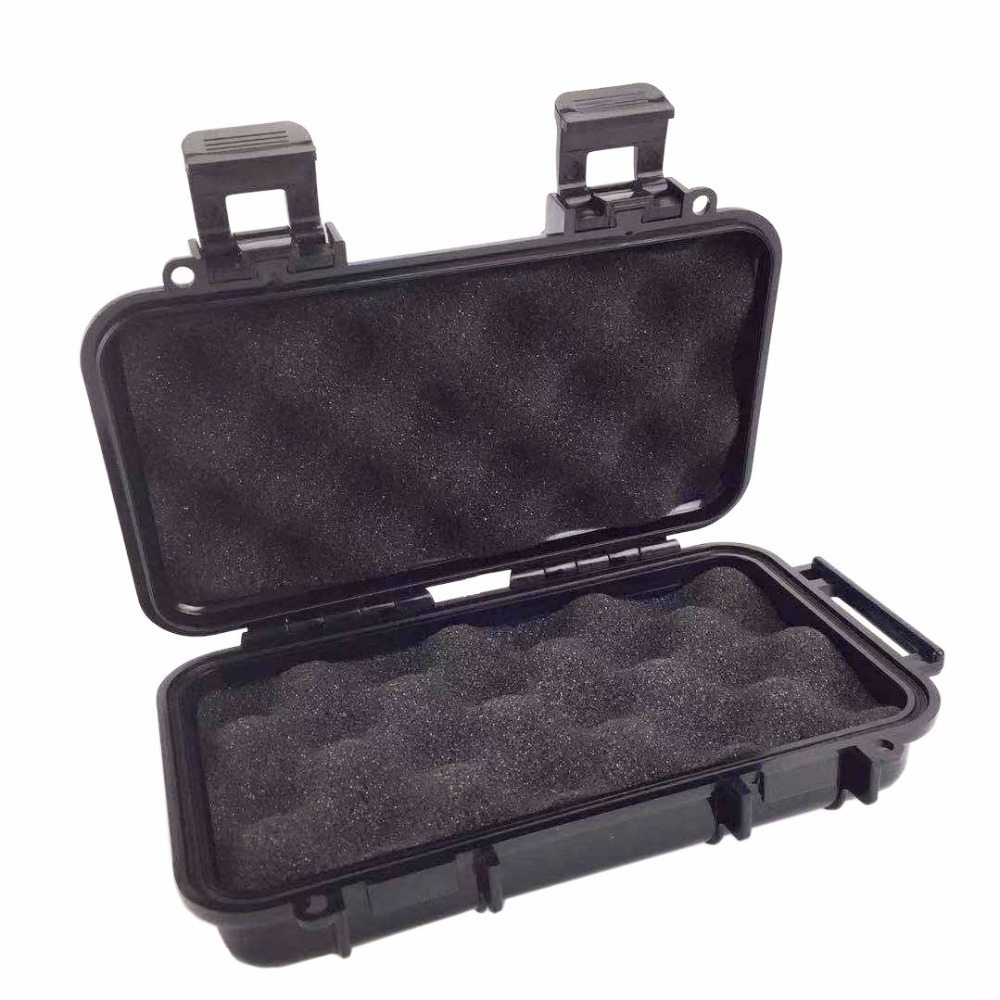 ABS Plastic Tool Box Outdoor Moistureproof Shockproof Sealed Waterproof Safety Equipment Box With Sponge