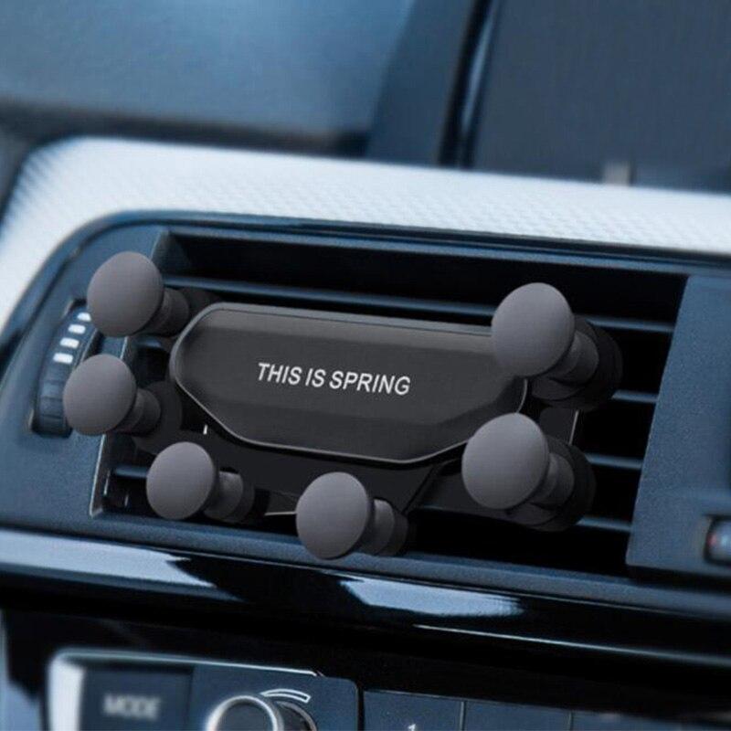 Nouveau support universel de voiture pour téléphone portable sans support magnétique pour iPhone Xiaomi Huawei téléphones mobiles dans le support de téléphone d'aération de voiture
