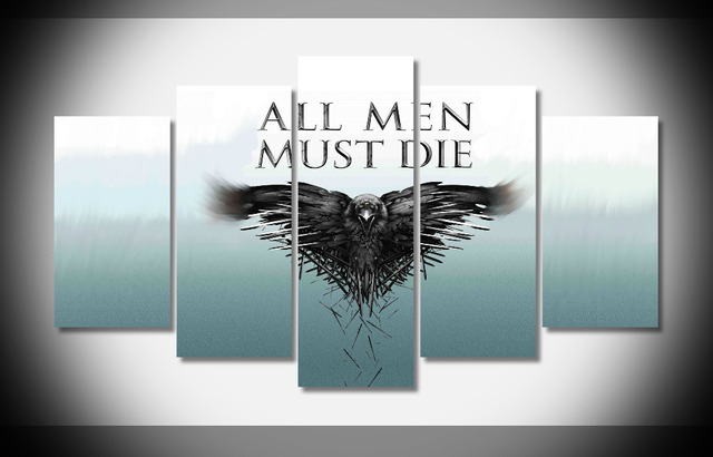 6516 game of thrones 2 poster print on canvas gallery wrap for Decoration murale game of thrones