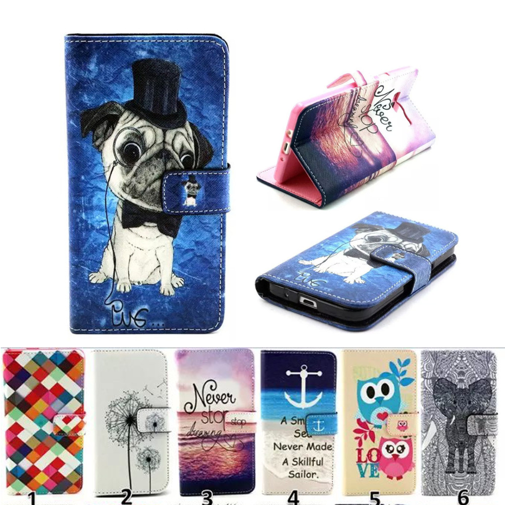 Galleria fotografica Flip Magnetic Stand Leather case For Samsung Sumsang Galaxy A3 2015 Core Prime Wallet Stand Book Style TPU PU Leather Case