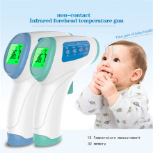 Infrared Thermometer Digital Body Temperature Fever Measurement Forehead Non-Contact Infrared LCD thermometer baby Home Health free shipping fast measurement infrared industrial thermometer hand held non contact industrial body thermometer
