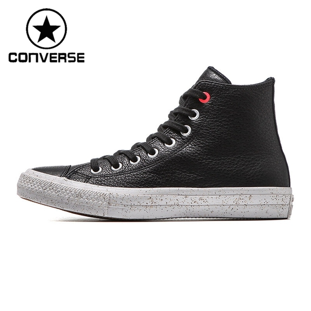 a64d4bb155f7 Original New Arrival Converse Men s Skateboarding Shoes Leather Sneakers