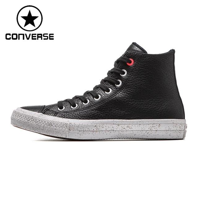 2df03c7d422 Originele Nieuwe Collectie Converse mannen Skateboard Schoenen Lederen  Sneakers