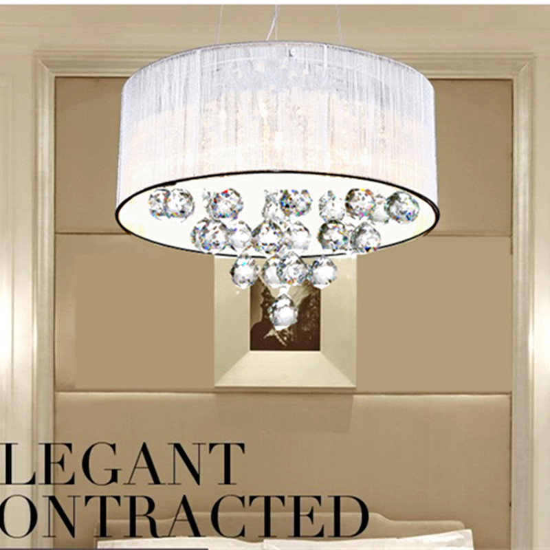 Moderne led lampen runde kristall Kronleuchter schlafzimmer ...